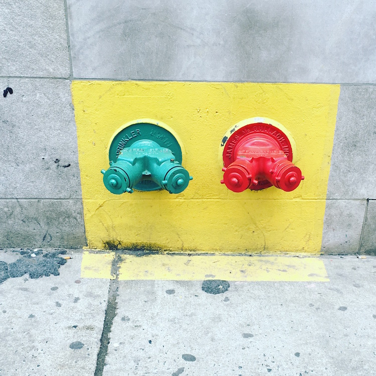 Street Art / Colours in Garment District