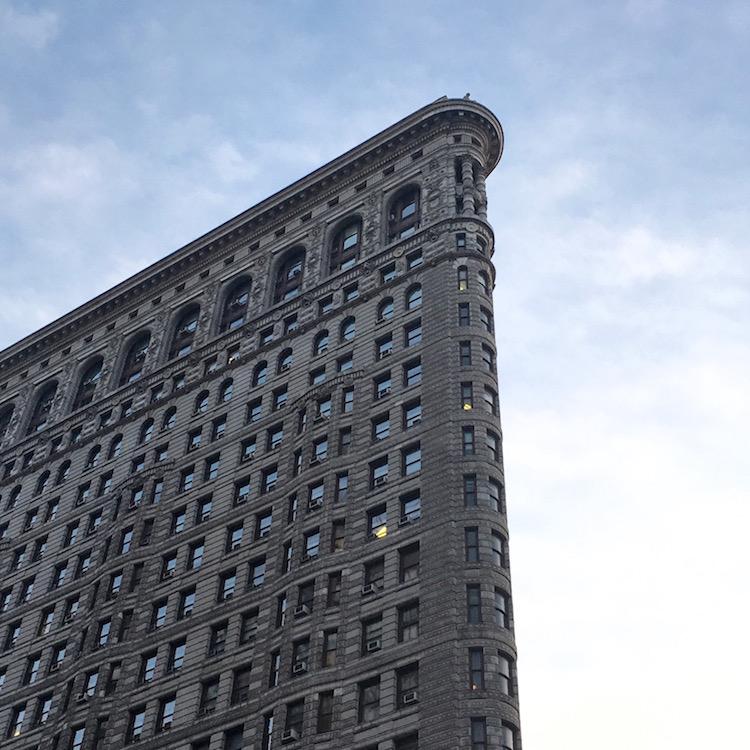 Flat Iron Building, 1902.