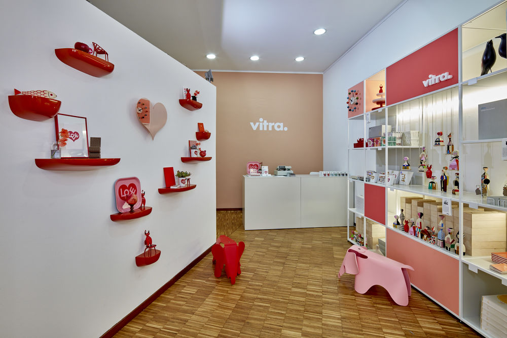 Vitra Pop Up Store by Studio Besau-Marguerre